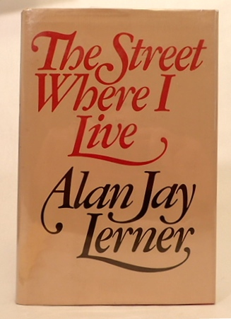 ON THE STREET WHERE YOU LIVE. Alan Jay Lerner, Alfred Drake.