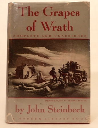 THE GRAPES OF WRATH. (OF MICE AND MEN). John Steinbeck, George S. Kaufman, Moss Hart.
