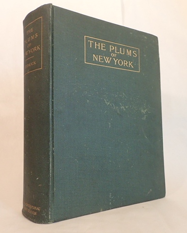 THE PLUMS OF NEW YORK. U. P. Hedrick.