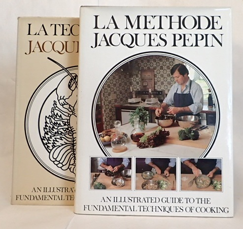 LA TECHNIQUE (and) LA METHODE. Jacques Pepin.