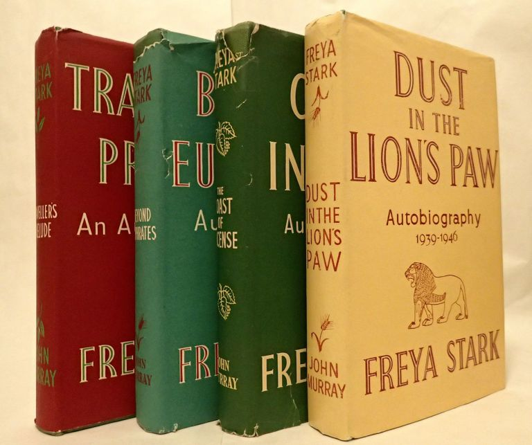 TRAVELLER'S PRELUDE: AN AUTOBIOGRAPHY (and) BEYOND EUPHRATES 1928-1933 (and) THE COAST OF INCENSE 1933 - 1939 (and) DUST IN THE LION'S PAW 1939 - 1946. Freya Stark.