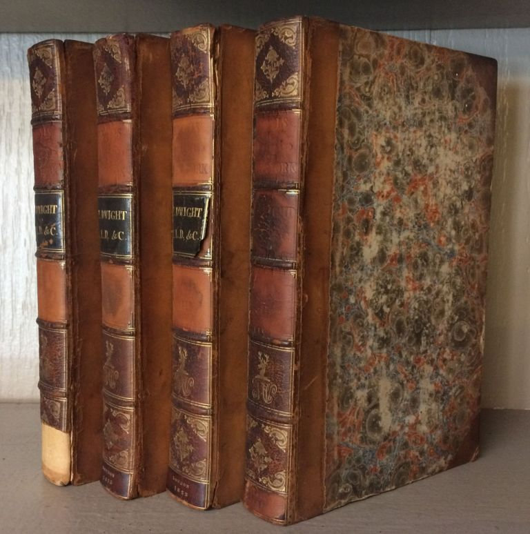 TRAVELS IN NEW-ENGLAND AND NEW-YORK (4 volumes). Timothy Dwight.