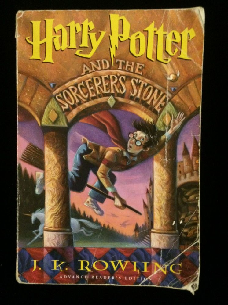 Harry Potter and the Sorcerer's Stone (Advance Reader's Edition). J. K. ROWLING.