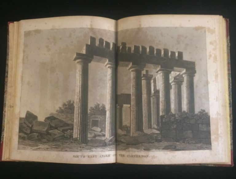 A Journey through Albania, and Other Provinces of Turkey in Europe and Asia, to Constantinople, during the Years 1809 and 1810. (Plate volume only). John Cam HOBHOUSE.