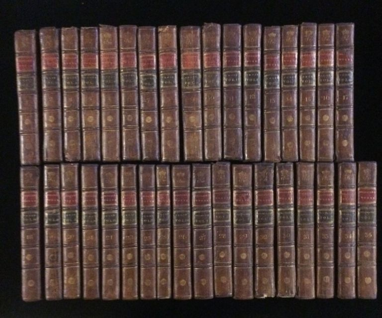 THE WORKS OF VOLTAIRE (35 volumes). T Voltaire. Smollet, T., Francklin, Englsih.