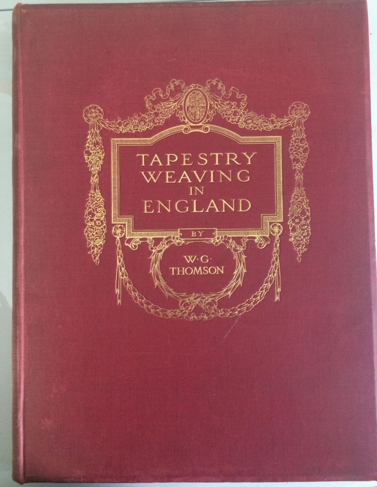 TAPESTRY BOOK COLLECTION PLUS UNPUBLISHED MANUSCRIPT. Adolph Cavallo.