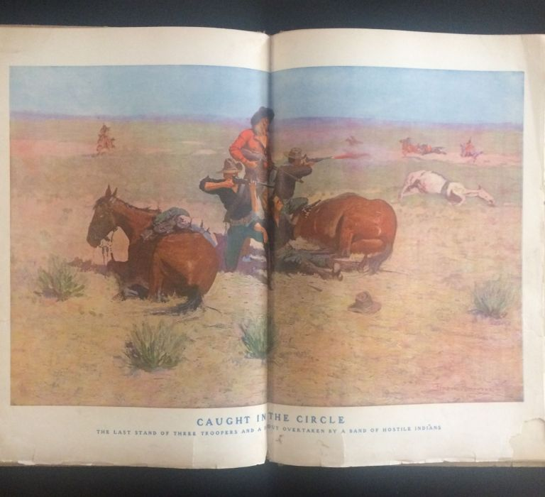Done in the Open. Frederic Remington, Owen Wister, text.
