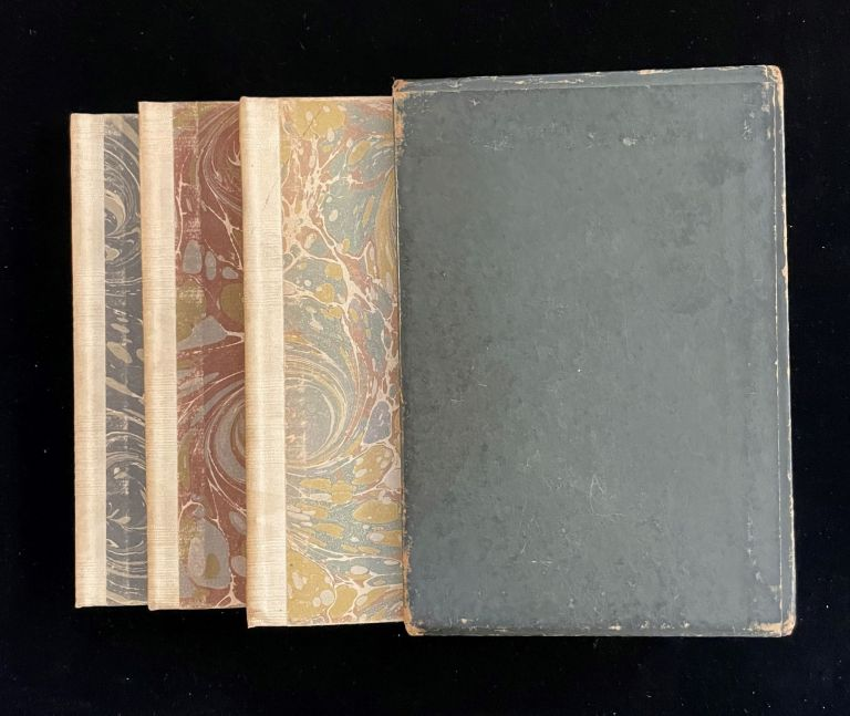 THE LEGEND OF SLEEPY HOLLOW (and) RIP VAN WINKLE (and) THE GREAT MISSIPPI RUBBLE (3 volume set in slipcase). Washington Irving, Diedrich Knickerbocker, Walpole Printing Office.