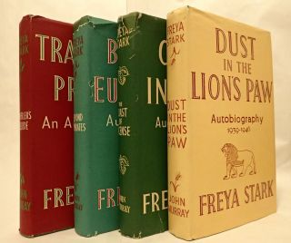 TRAVELLER'S PRELUDE: AN AUTOBIOGRAPHY (and) BEYOND EUPHRATES 1928-1933 (and) THE COAST OF INCENSE 1933 - 1939 (and) DUST IN THE LION'S PAW 1939 - 1946