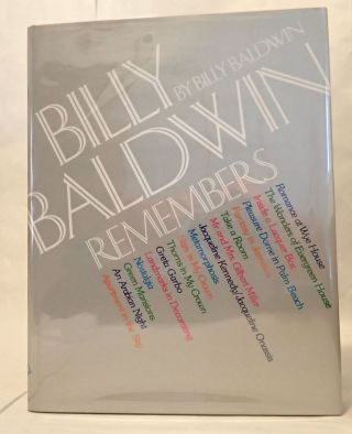 BILLY BALDWIN REMEMBERS