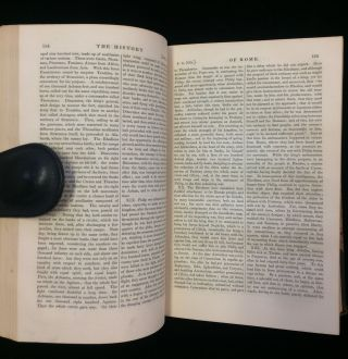 THE HISTORY OF ROME BY TITUS LIVIUS translated from the original, with notes and illustrations