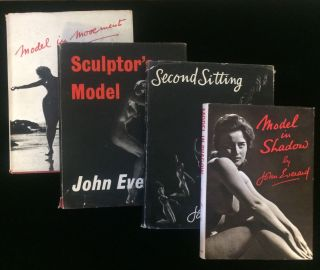 FOUR TITLES BY NUDE PHOTOGRAPHER JOHN EVERARD. John Everard