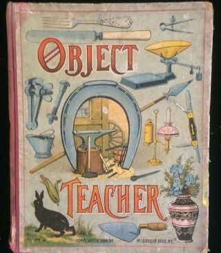 OBJECT TEACHER (children's picture book