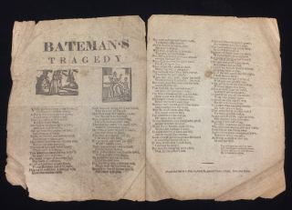 BATEMAN'S TRAGEDY