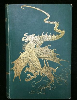 THE GREEN FAIRY BOOK. Andrew. Ford Land, H. J., illustrations