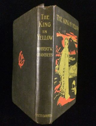 THE KING IN YELLLOW
