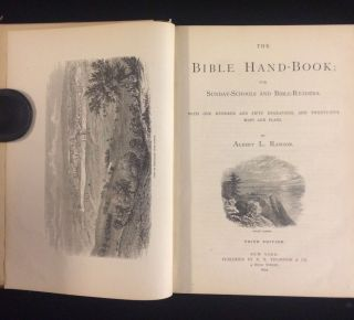 The Bible Hand-Book; for Sunday-Schools and Bible-Readers. With One Hundred and Fifty Engravings,...