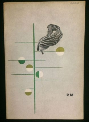 PM Magazine, Vol. IV No. 9 October - November 1938 (Paul Rand issue). The Merrymount Press Paul...