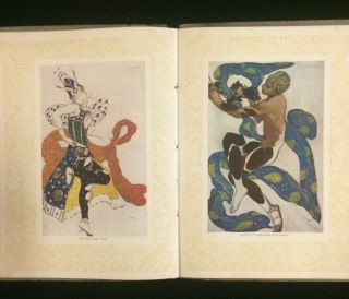 SOUVENIR SERGE DE DIAGHILEFF'S BALLET RUSSE with program for first US performance