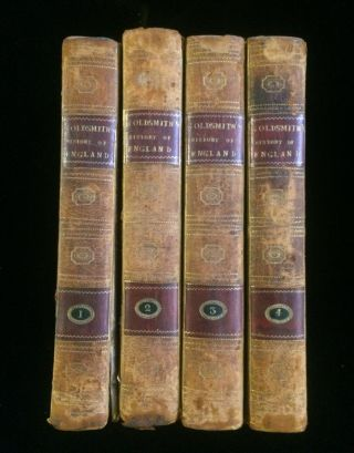 THE HISTORY OF ENGLAND, FROM THE EARLIEST TIMES TO THE DEATH OF GEORGE II. (4 volumes, complete....