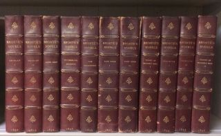 Novels of the Sisters Bronte. The Thornton Edition. (12 volumes, complete) (Jane Eyre, etc)....
