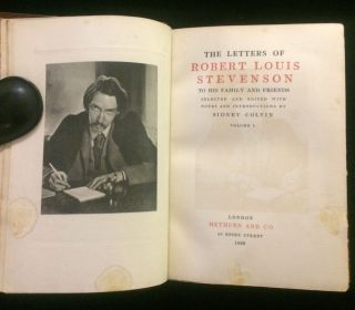 The letters of Robert Louis Stevenson to his family and friends (2 vols)