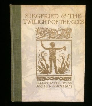 SIEGFRIED & THE GODS OF TWILIGHT (cover title). THE RING OF THE NIBLUNG: A TRILOGY WITH PRELUDE...