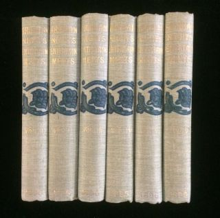 THE THOUSAND AND ONE NIGHTS; OR ARABIAN NIGHTS' ENTERTAINMENTS (6 volumes complete)